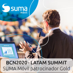 SUMA móvil, patrocinador oro oficial de la V edición del BCN2020 LATAM SUMMIT