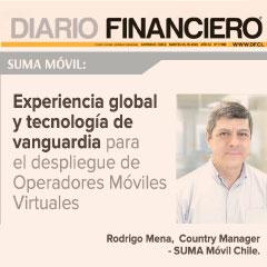 SUMA móvil Chile participa en la edición especial Las Telecomunicaciones, del Diario Financiero de Santiago de Chile