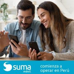 SUMA móvil continúa con su plan de internacionalización y comienza su operativa en Perú