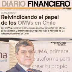 """Rodrigo Mena: """"La Plataforma de SUMA móvil, con tecnología propia y dinámica, nos ubica en la cima para los OMVs"""""""