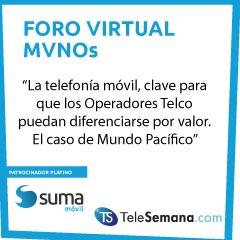 """SUMA móvil, en el Foro Virtual MVNOs: """"El móvil, crucial para que los Operadores Telco puedan diferenciarse por valor"""""""