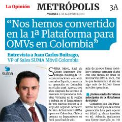 """Juan Carlos Buitrago: """"Nos hemos convertido en la 1ª Plataforma para OMVs en Colombia"""""""