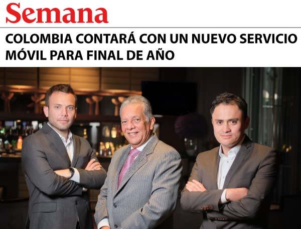 SUMA móvil - Noticia: Colombia contará con un nuevo servicio móvil para final de año